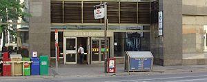 Sherbourne Street, Toronto - Image: Sherbourne Station TTC