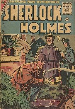 Sherlock Holmes 1 Charlton Comics