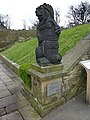 Shibden Hall, Halifax, The Lister Lion - geograph.org.uk - 1804060.jpg