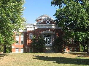 National Register of Historic Places listings in Johnson County, Indiana - Image: Shirk Hall, Franklin College