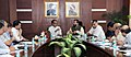 Shivraj Singh Chouhan meeting the Minister of State for Environment, Forest and Climate Change (Independent Charge), Shri Prakash Javadekar, in New Delhi. The Secretary, Environment, Forests and Climate Change.jpg