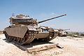 Sho't tank at the Harel Memorial in Har Adar.jpg