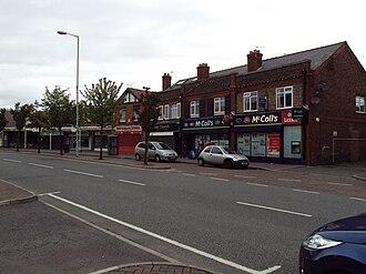 Irby, Merseyside - Shops, Thingwall Road