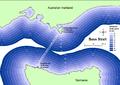 Shortest distance between coasts of Bass Strait.png