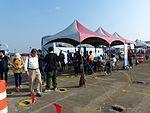 Shuttle Buses Station at Ching Chuang Kang Air Force Base Apron 20161126.jpg