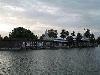 Siddheshwar - Shri.Siddheshwar Temple (Lake view)