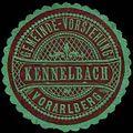 Siegelmarke Gemeinde-Vorstehung Kennelbach - Vorarlberg W0261656.jpg