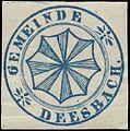 Siegelmarke Gemeinde Deesbach W0385134.jpg