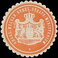 Siegelmarke Gr. Mecklb. Strel. Staats-Ministerium W0386319.jpg