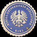 Siegelmarke Königliche Universitäts - Bibliothek - Kiel W0216365.jpg