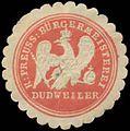 Siegelmarke K.Pr. Bürgermeisterei Dudweiler W0384194.jpg