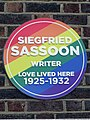 Siegfried Sassoon Writer Love Lived Here 1925-1932.jpg