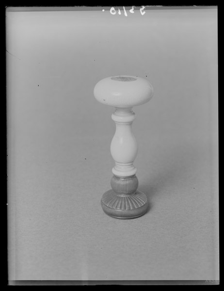 File:Sigillstamp för prins Gustav (1827-1852) - Livrustkammaren - 10906.tif