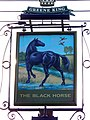 Sign for the Black Horse - geograph.org.uk - 1586019.jpg
