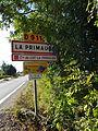 Signalisation entrée La Primaube, Cna Luc La Primalba.JPG