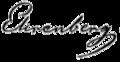 Signatur Christian Gottfried Ehrenberg.PNG