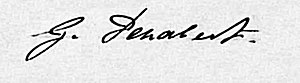 Georges Penabert - Georges Penabert signature