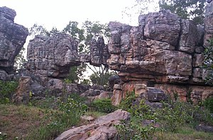 Natural Arch, Tirumala hills - Another view of the Natural arch