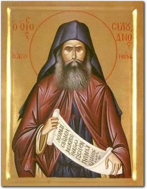 Silouan the Athonite - Icon of St. Silouan the Athonite