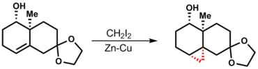 Directing groups aid in the selectivity of the Simmons-Smith reaction