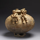 Sinu - Olla with Annular Base and Modeled Figures - Walters 482860 - Side A.jpg