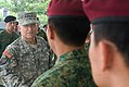 Singaporean soldiers, who recently returned from Afghanistan, meet Chief of Staff of the Army Gen. George W. Casey Jr., left, in Singapore, Aug. 26, 2009 090826-A-VO565-008.jpg