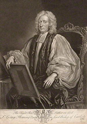 Sir George Fleming, 2nd Baronet - Bishop Fleming