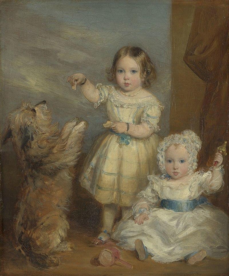 Sir Francis Grant (1803-78) - Victoria, Princess Royal (1840-1901) and Albert Edward, Prince of Wales (1841-1910) - RCIN 405044 - Royal Collection.jpg