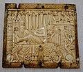 Sir Gawain on the marvellous bed, casket panel, French, Paris, 1300-1350, ivory - Princeton University Art Museum - DSC06771.jpg