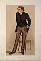 Sir John Scott Burdon Sanderson. Coloured lithograph by Sir Wellcome V0000910.jpg