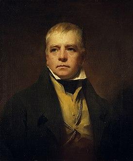 Сэр Вальтер Скотт. Портрет работы Генри Рэйберна, 1822 г.