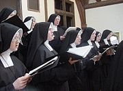 Sisters (Daughters of Mary) Roman Catholic Singing