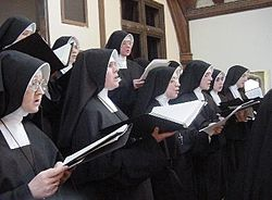 Sisters (Daughters of Mary) Roman Catholic Singing.jpg