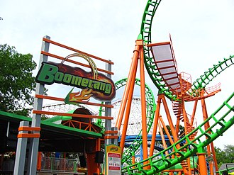 Boomerang (Six Flags St. Louis) - Boomerang