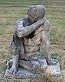 Skulptur Ossietzkystr 26 (Panko) Sitzender Manfred Salow 1978.jpg