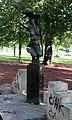 Skulptur Ostseeplatz (Prenz) Nackte Anna Franziska Schwarzbach 1987.jpg