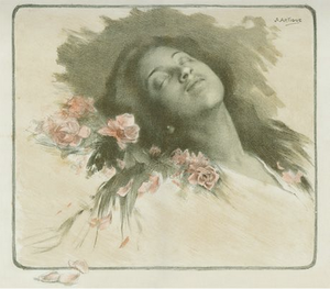 Glimmande nymf - Image: Sleeping woman Artigue