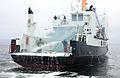 Slukking av brann om bord skoleskipet Midøy (8784103668).jpg