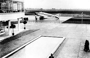 Savoia-Marchetti S.73 - S.73 at Milan Linate airport