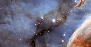 Wide Field and Planetary Camera 2 - Image: Small Section of the Carina Nebula