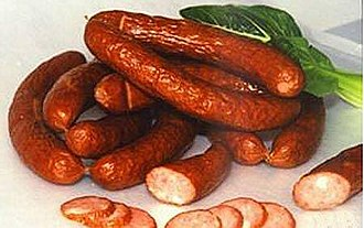 Chinese sausage - Smoked sausages from Harbin