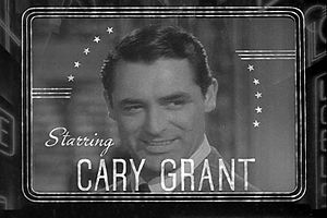 Cary Grant in The Philadelphia Story trailer