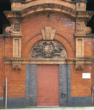 Birmingham Snow Hill railway station - An original entrance in Livery Street