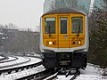 Snow falls on 319001 Sevenoaks to St Albans City 2E71 (16449124565).jpg