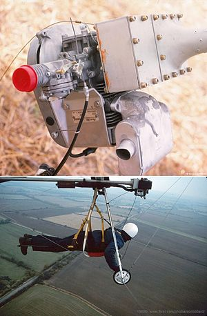 Powered hang glider - Soarmaster standard FLPHG power unit