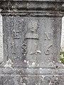 Socle de la croix de gauche, daté de 1846. Chapelle Saint-Ursanne.jpg