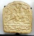 Sofia Archeological Museum Votive tablet Horseman 09.jpg