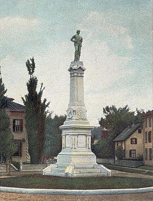 Beverly, Massachusetts - Soldiers' Monument in 1907