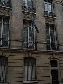 Somálsko-Historický prehľad najvyšších predstaviteľov-Somalian embassy in Paris