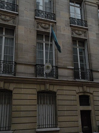 Transitional federal government, Republic of Somalia - Embassy of Somalia in Paris, France.